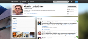Mein Twitter-Account