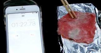 Grillen mit dem Samsung 7