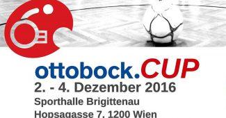 Plakat ottobock.CUP 2016 in Wien