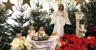Weihnachtsausstellung 2016 in den Blumengärten Hirschstetten