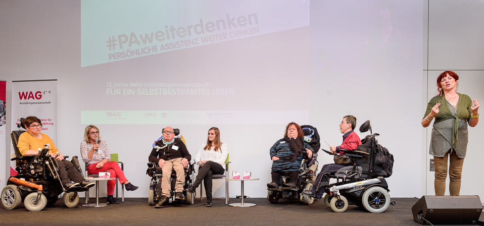 Podiumsdiskussion WAG am 25. September 2017