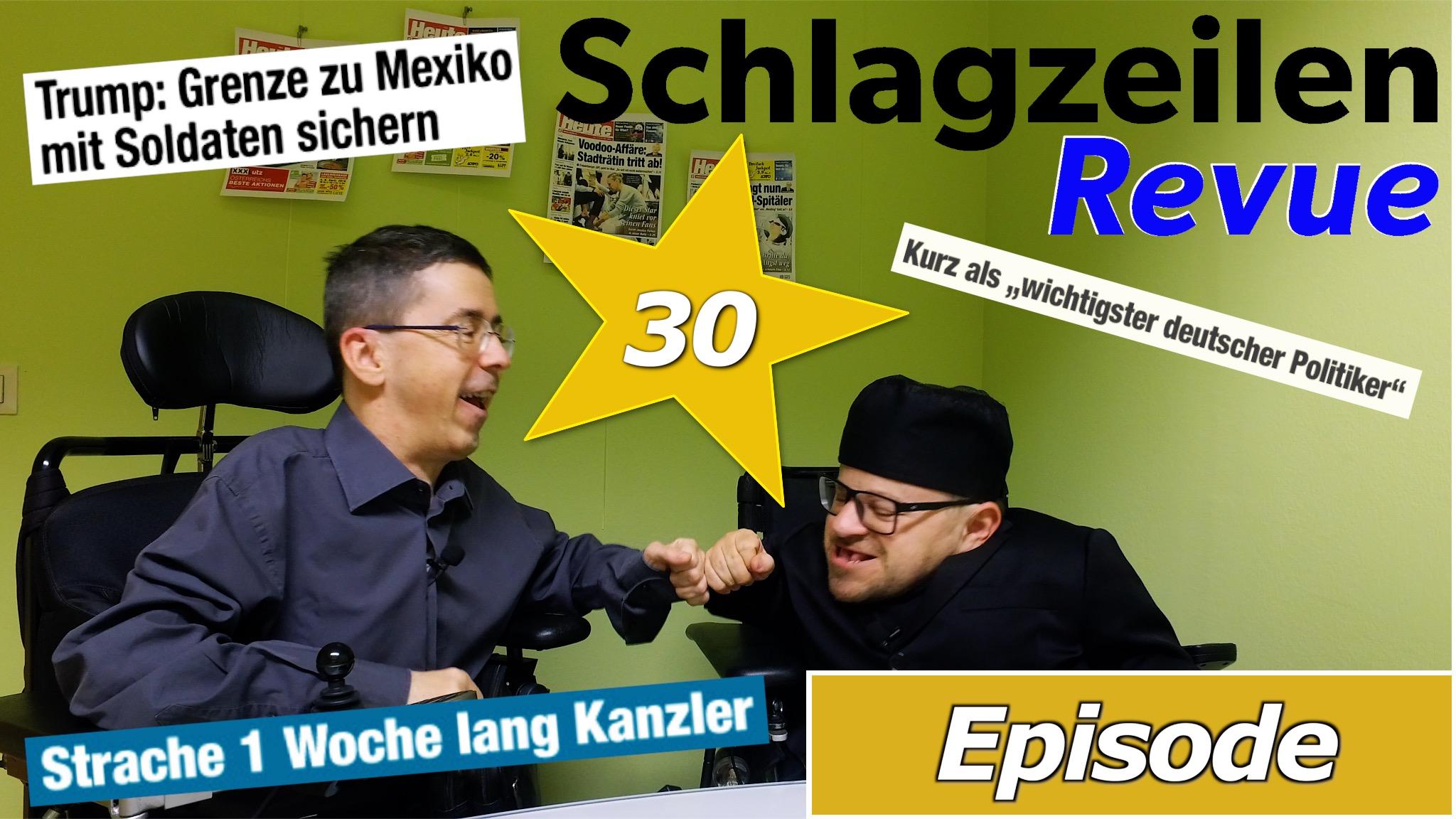 Schlagzeilen Revue vom 8. April 2018
