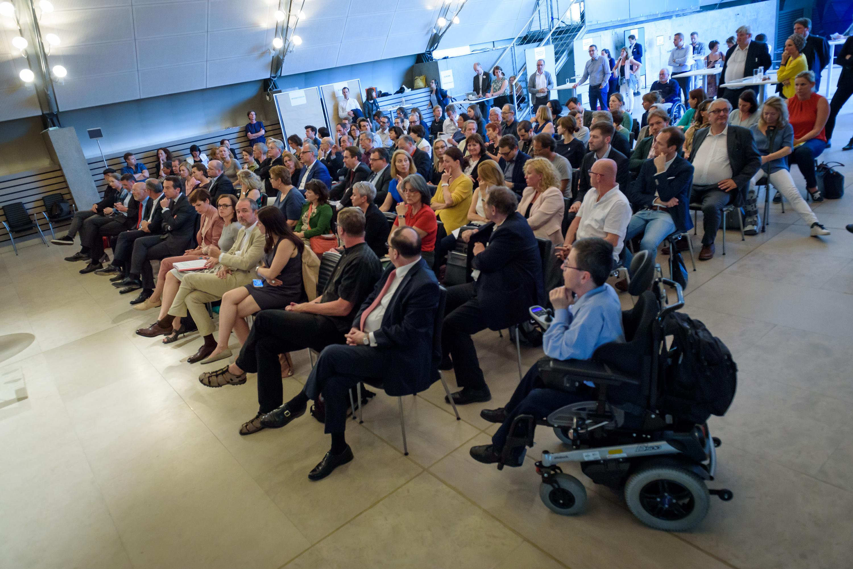 SPÖ-Veranstaltung im Dachfoyer des Parlaments zu Forum Politik & Zivilgesellschaft