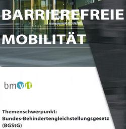 Broschüre Barrierefreie Mobilität