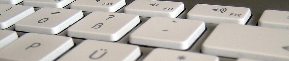 Bild einer Tastatur