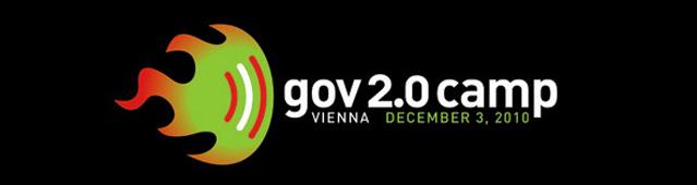 Logo gov2.0camp am 3. Dezember 2010 in Wien