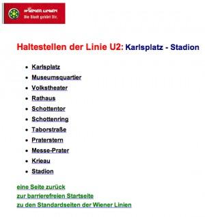 Liste der U2 Stationen