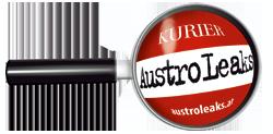 Logo AustroLeaks von Kurier