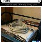 oMoby erkennt Kabel