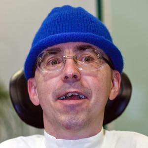 Martin Ladstätter mit blauer Haube