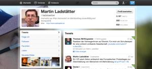Mein Twitter-Account