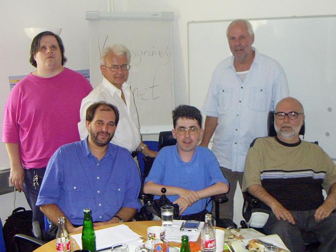 Gründun kobinet am 19. August 2002