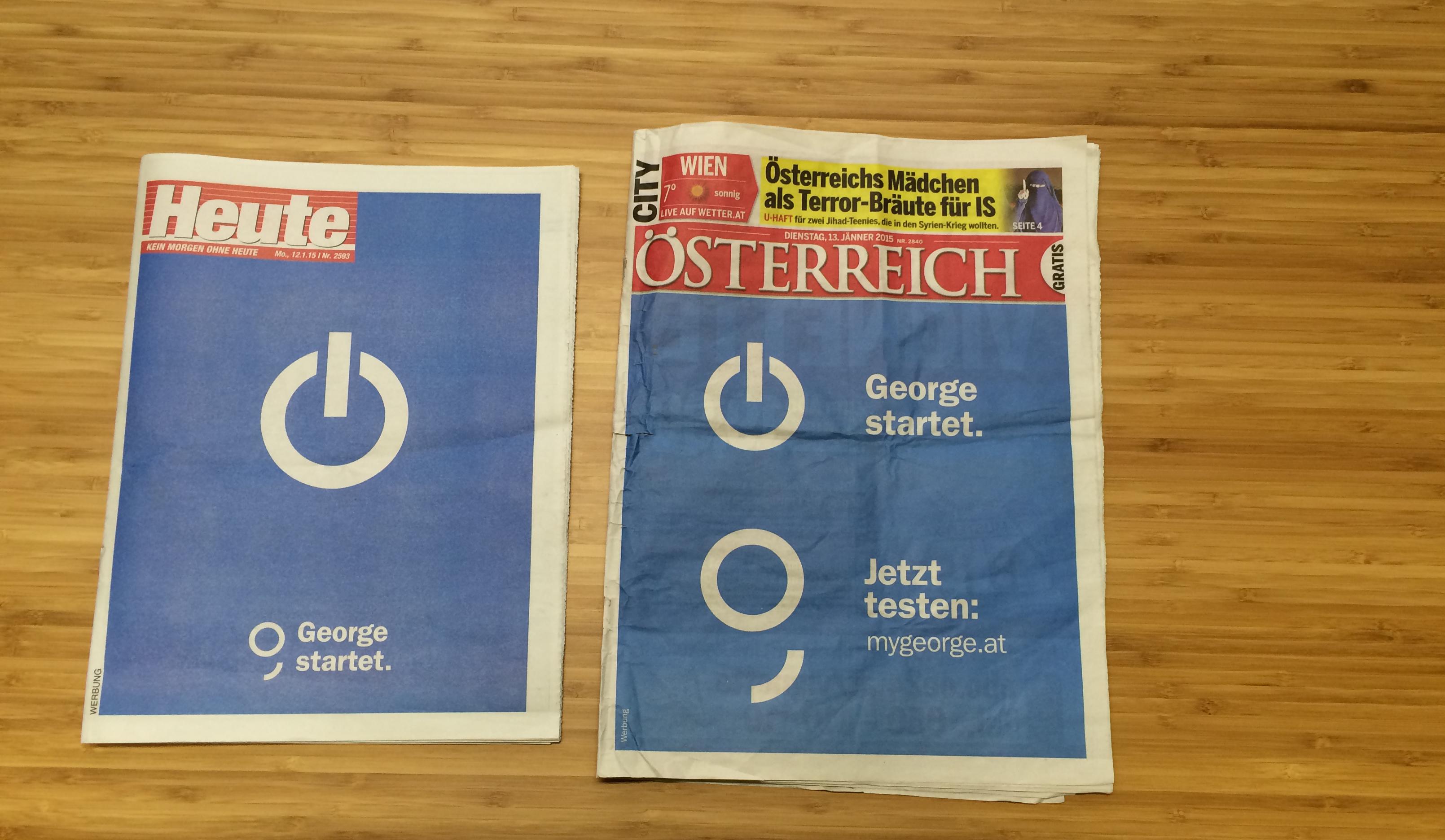"""""""Gekauften"""" Zeitungen"""