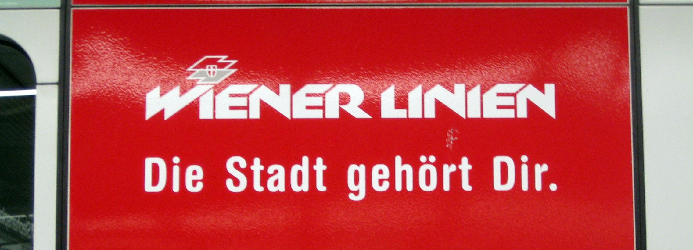 Wiener Linien: Die Stadt gehört Dir.