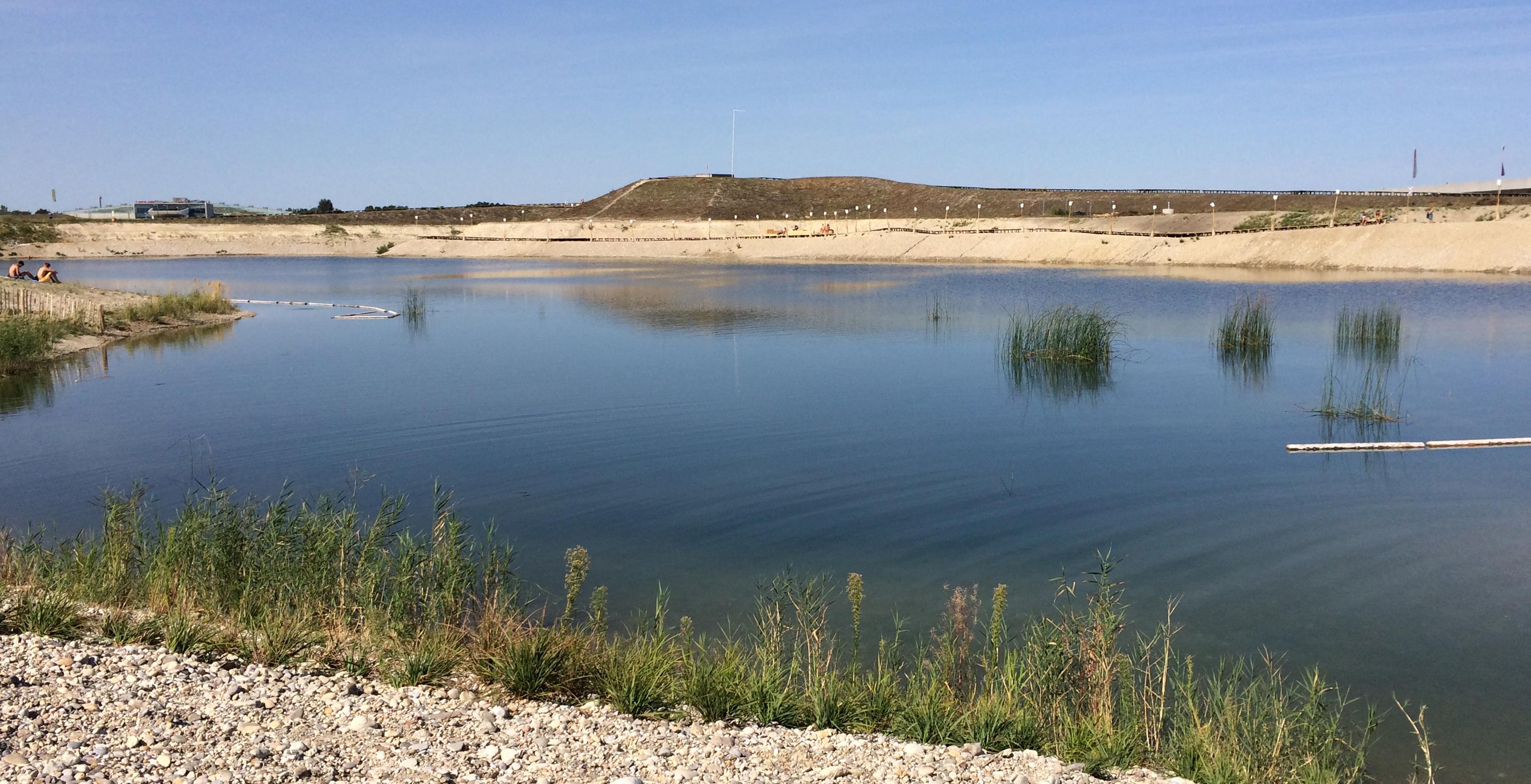 Der See in der Seestadt Aspern