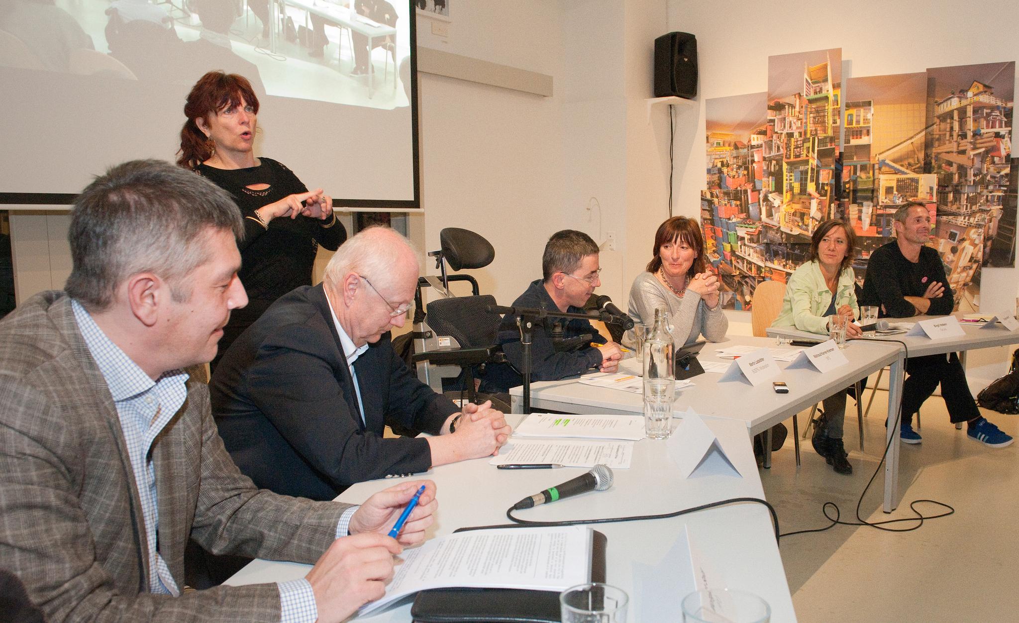 Caritas-Podiumsgespräch zur Wien-Wahl 2015