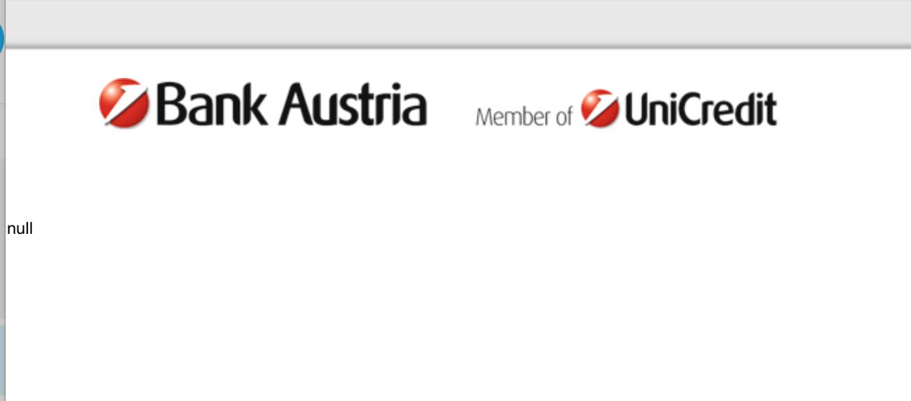 Das OnlineBanking der Bank Austria ist ...
