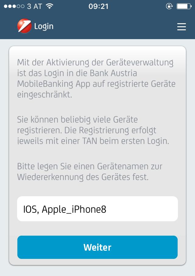 Bank austria mobile banking