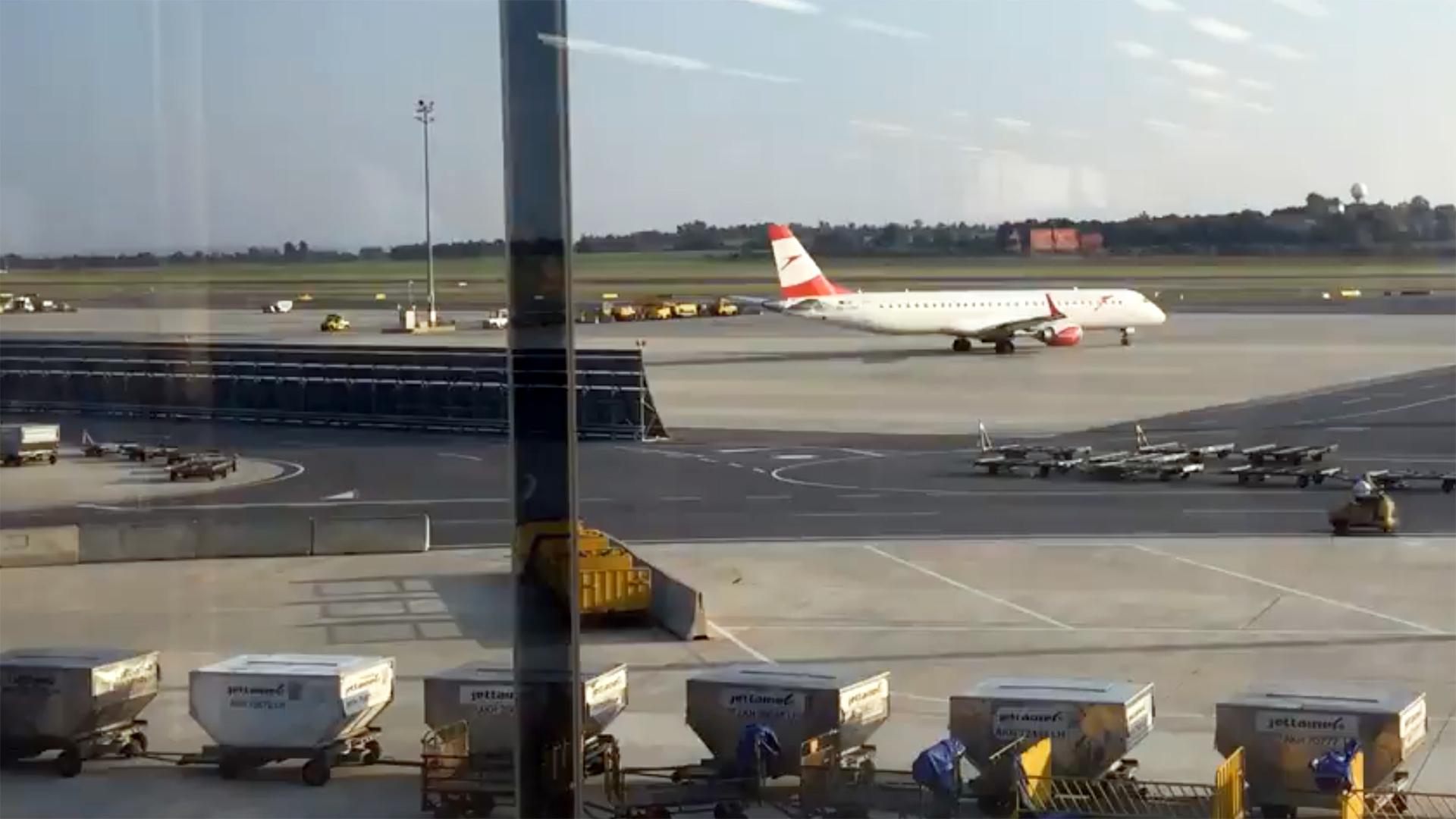 Rollfeld Flughafen Wien Schwechat