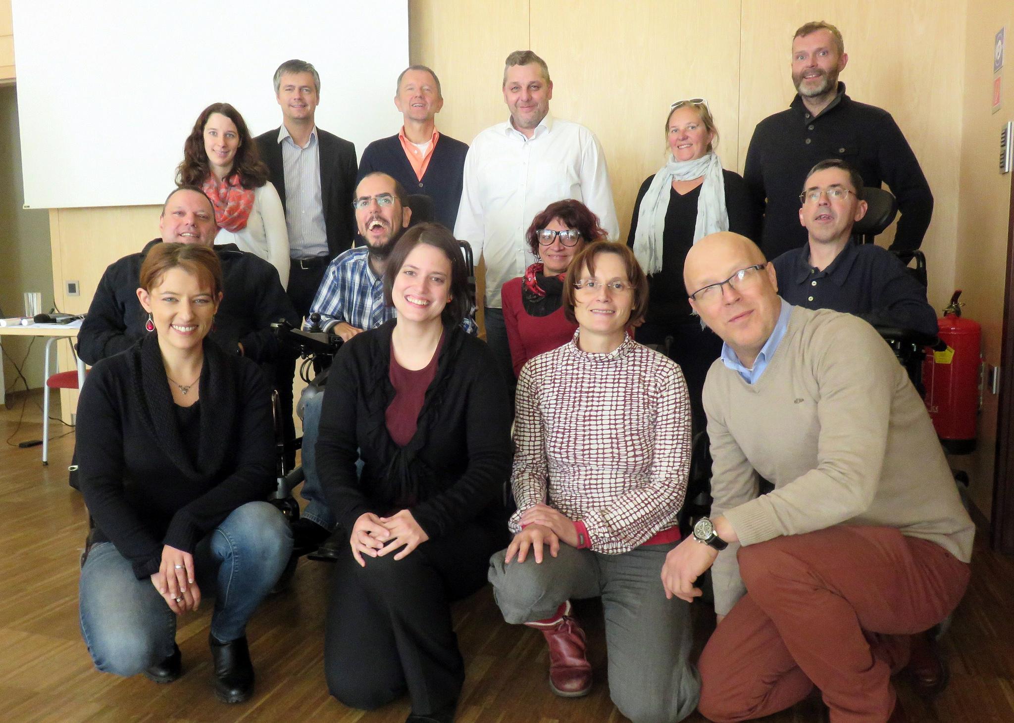 Gruppenfotos von der AuditorInnenschulung