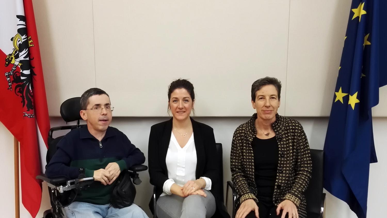 Martin Ladstätter, Christina Wurzinger, Johanna Mang