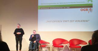 Eröffnung ÖAR-Infotag: Partizipieren statt Zeit verlieren