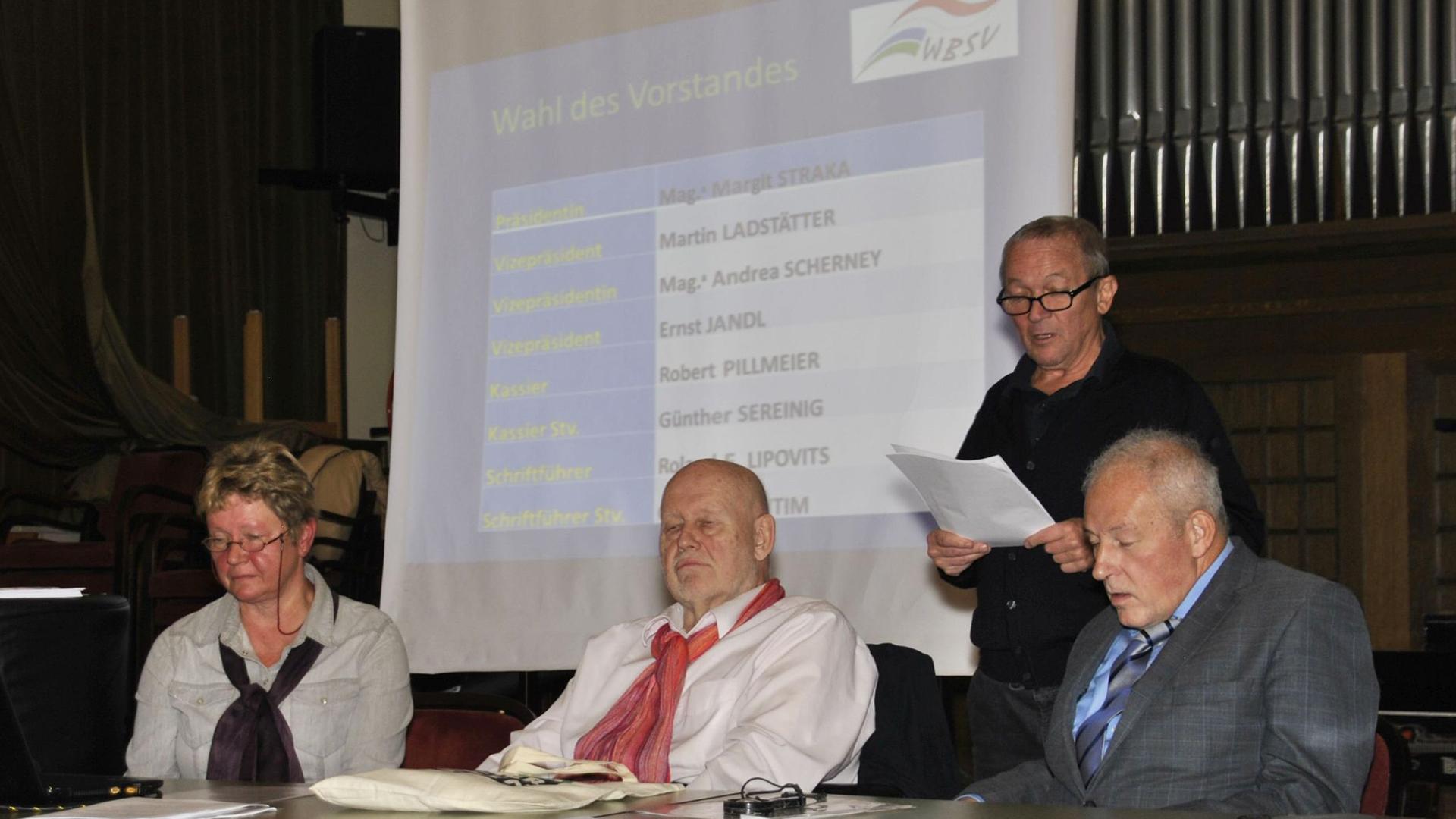 Generalversammlung Wiener Behindertensportverband am 16. November 2017