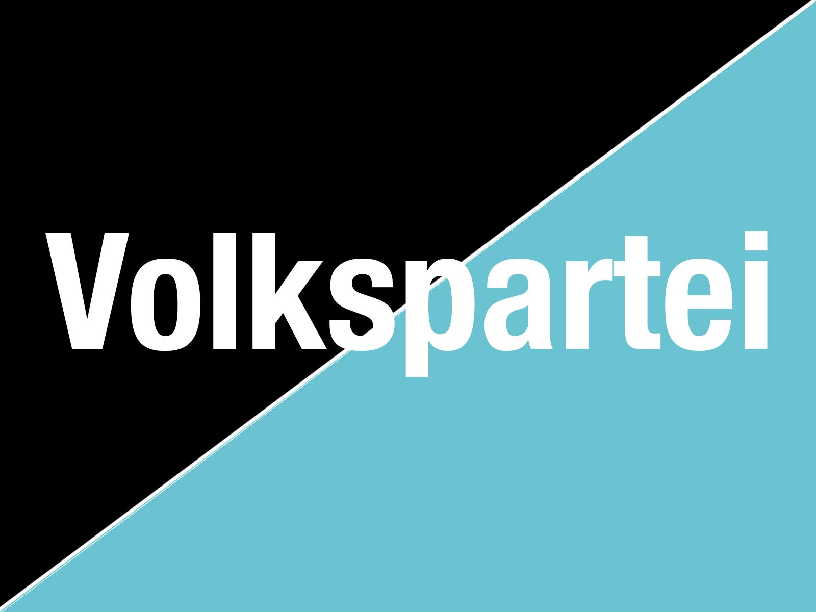Volkspartei schwarz türkis