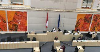 Parlament - Beschluss des Inklusionspaket im Jahr 2017