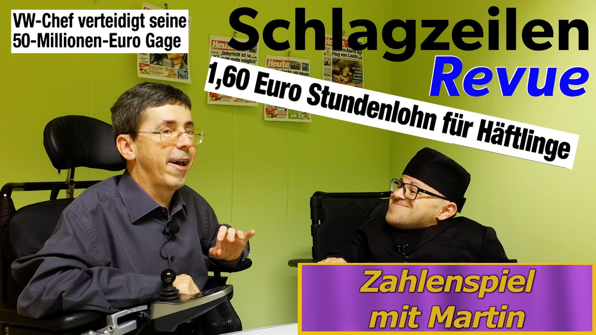 Sondersendung zur 50 Millionen Euro Gage
