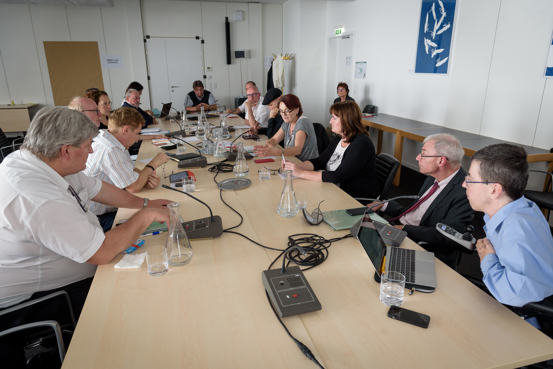 Arbeitsgruppe bei SPÖ-Veranstaltung Forum Politik & Zivilgesellschaft