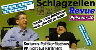 Schlagzeilen Revue vom 9. September 2018