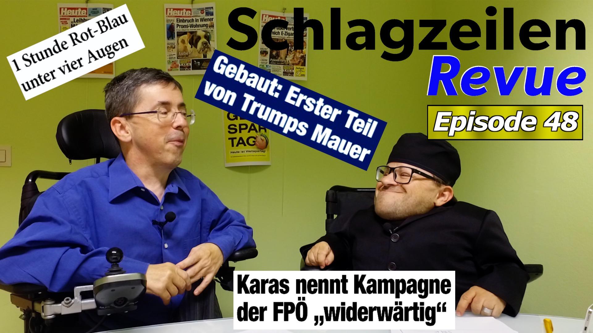Schlagzeilen Revue vom 4. November 2018