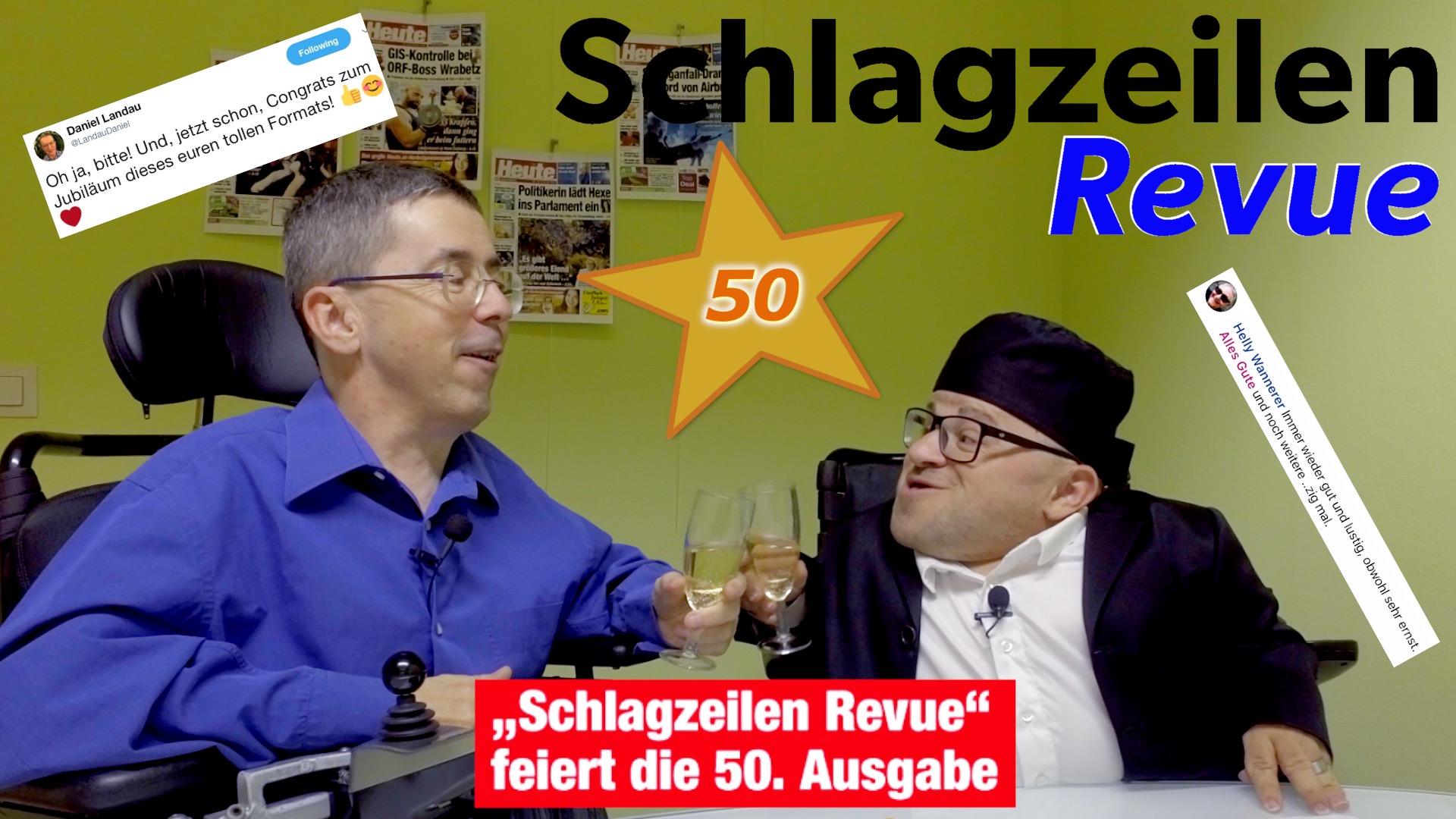 Schlagzeilen Revue vom 18. November 2018