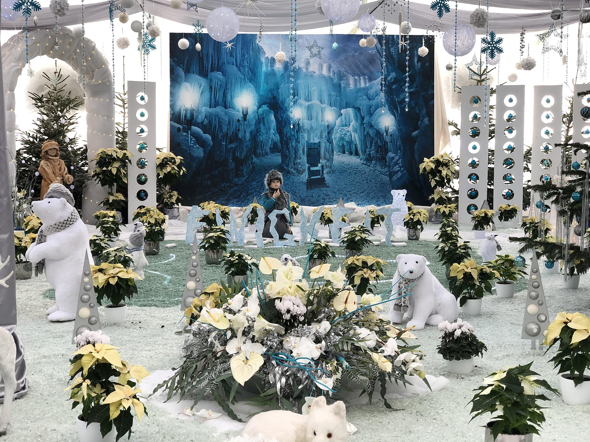 Weihnachtsschau in den Blumengärten Hirschstetten