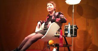 Elisabeth Löffler auf der Bühne