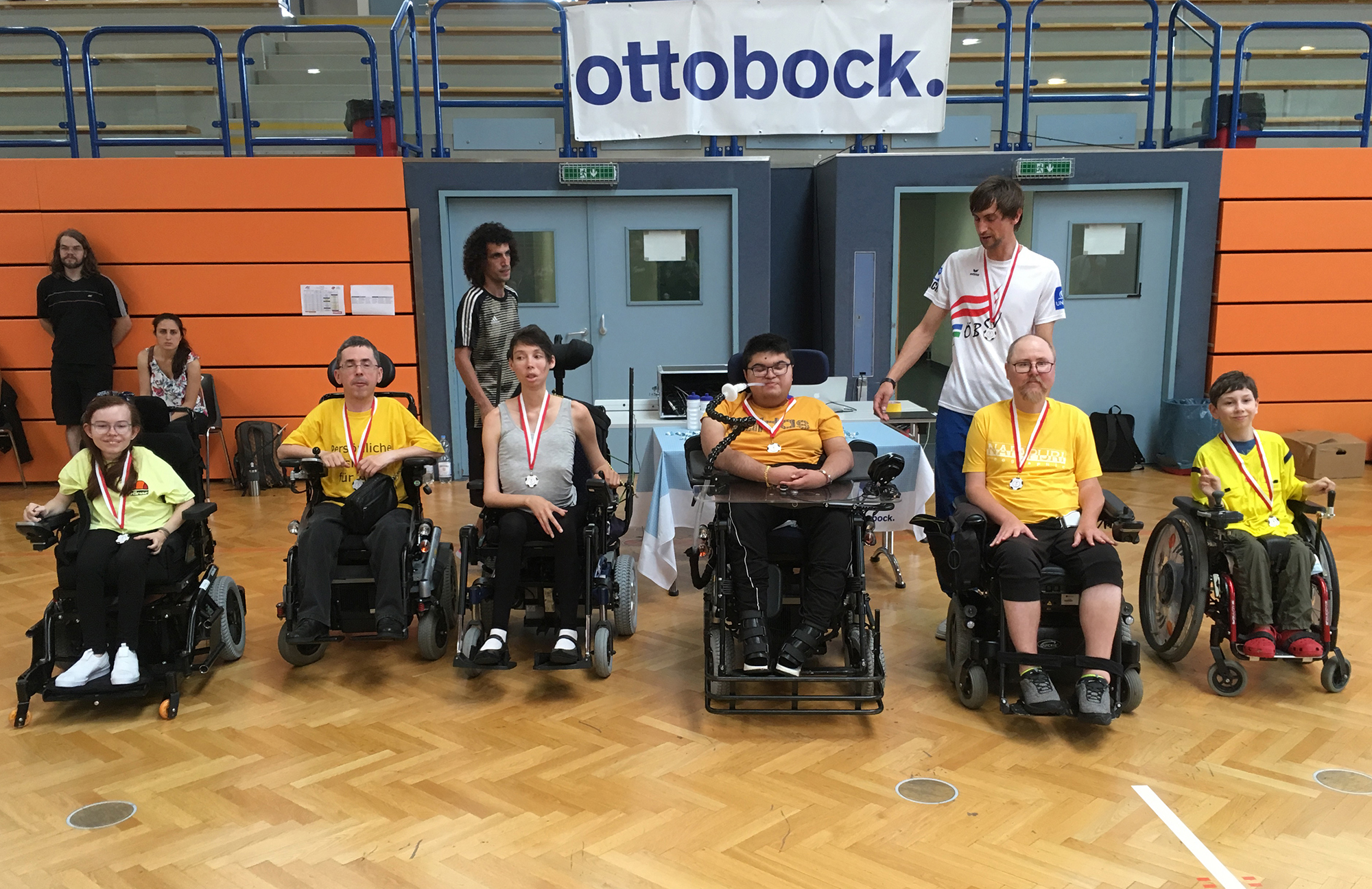 Team Gelb beim Player's CUP 2019