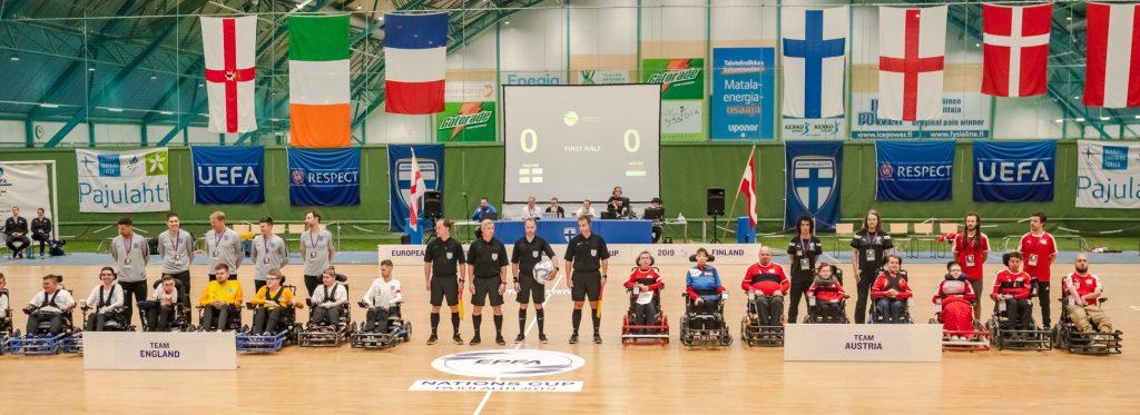 European Nations CUP 2019 - England gegen Österreich