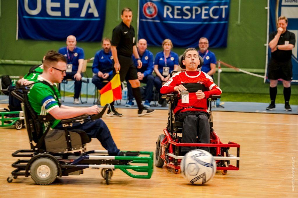 European Nations CUP 2019 - Zweikampf im Irlandspiel