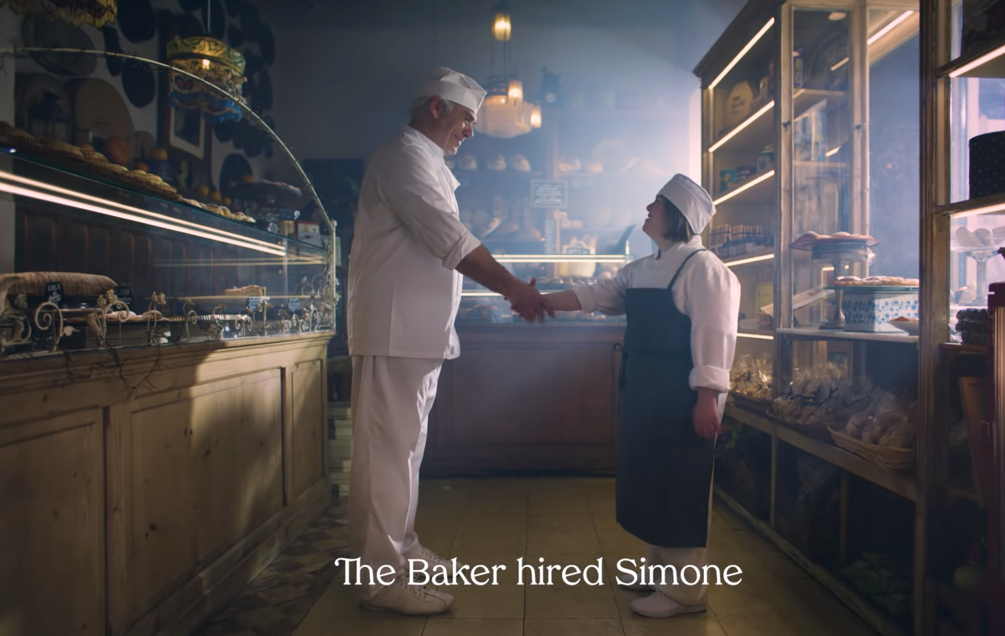 The Hiring Chain - the Baker hired Simone